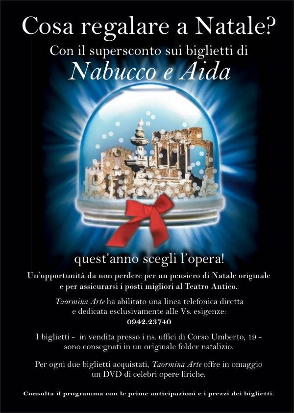Natale Taormina Estate 2011